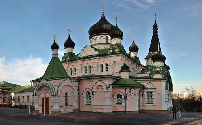 Свято-Покровский женский монастырь.