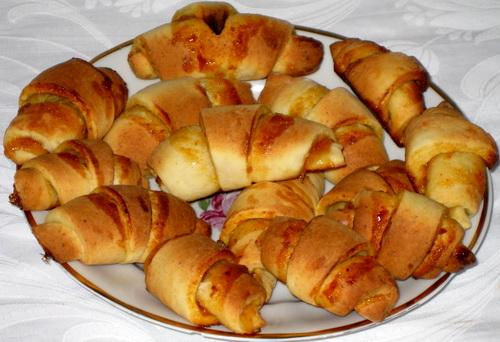 Рогалики домашние рецепт с фото