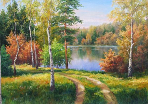 50550265_Tatyana_Abramova.jpgТатьяна Абрамова. Осенние краски леса. (600x423, 129Kb)