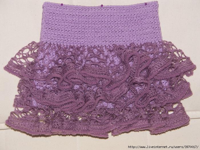 Вязание для детей юбка плиссировка