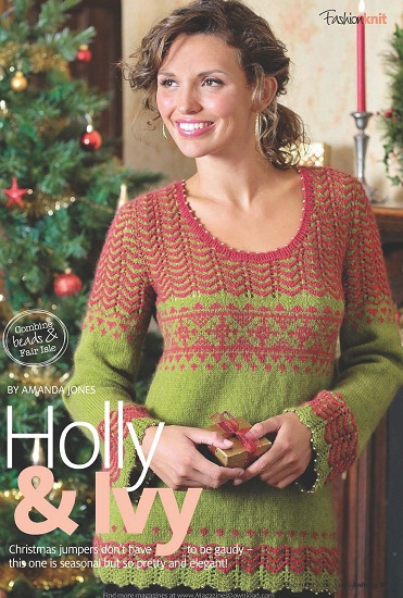 Holly & Ivy Pullover_1 (494x700, 80Kb) .