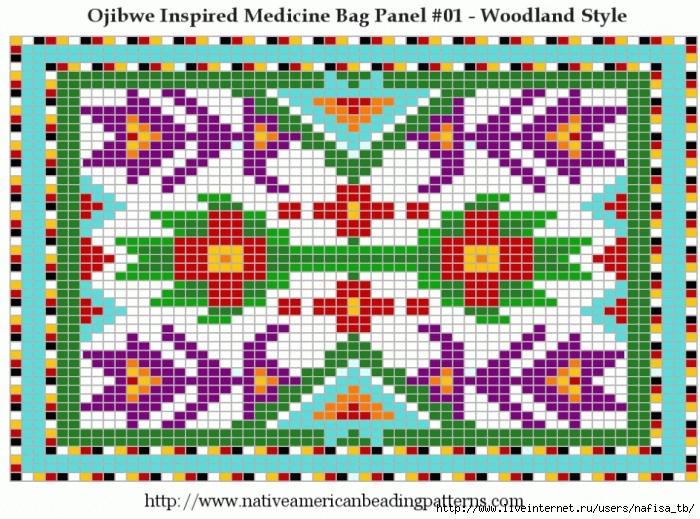 Схемы для вышивки коврика крестом 710