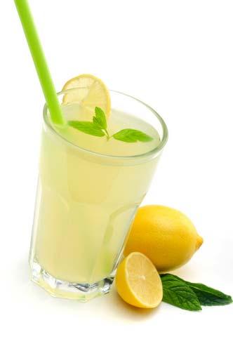 коктейль лимонный.