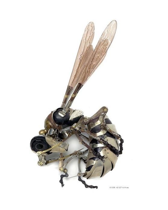 Металлическая современная скульптура Эдуарда Мартине 14 (558x700, 44Kb)