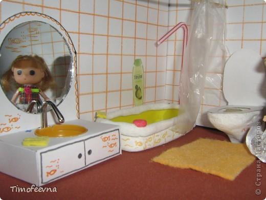 Как сделать ванную комнату своими руками куклы