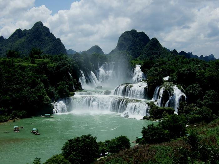 Красивые водопады 4