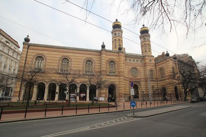 Центральная Синагога Будапешта - Dohany Street Synagogue 58789