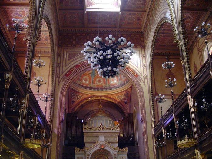 Центральная Синагога Будапешта - Dohany Street Synagogue 10347