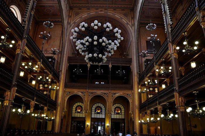 Центральная Синагога Будапешта - Dohany Street Synagogue 44795