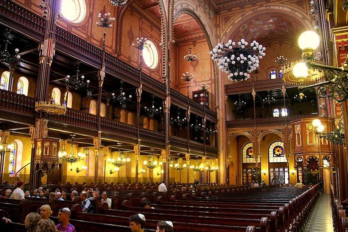 Центральная Синагога Будапешта - Dohany Street Synagogue 92732