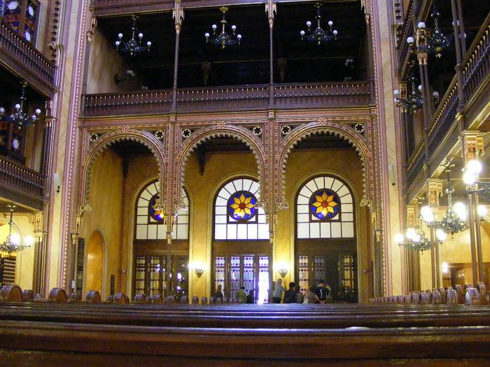 Центральная Синагога Будапешта - Dohany Street Synagogue 12803