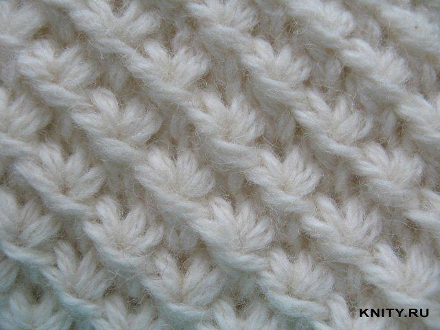 Вязание на спицах узоров