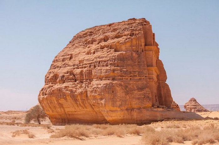 Гробница Каср аль-Фарид Саудовская Аравия 3 (700x465, 274Kb)