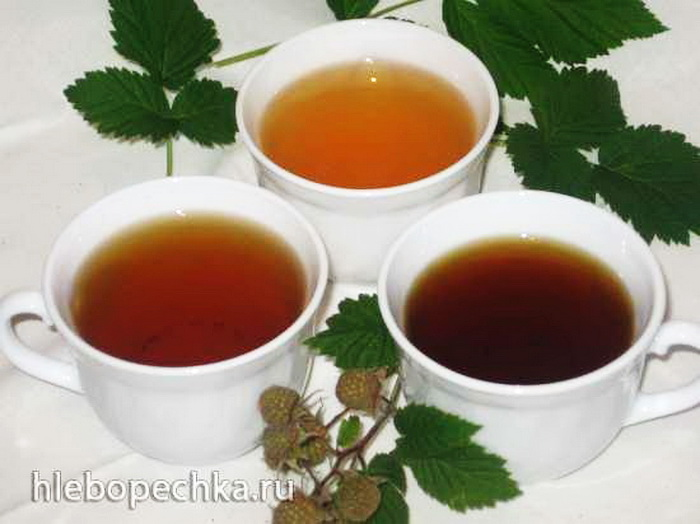 Ферментированный чай из листьев мяты