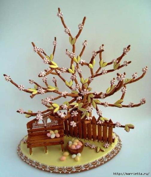 Медовники. Пасхальные медовые пряники (16) (504x593, 172Kb)