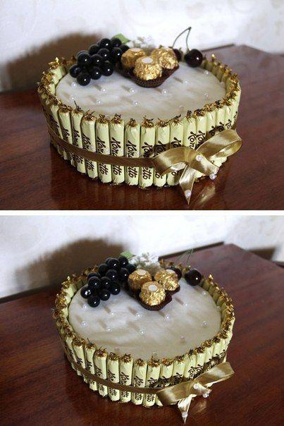 Топиарий из конфет своими руками пошаговое фото