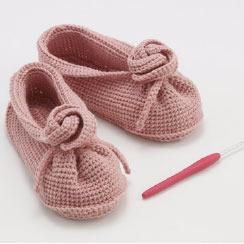 Детские туфельки крючком. Схемы (8) (244x244, 38Kb)