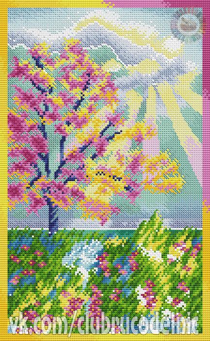 Pastel Garden (433x700, 668Kb)
