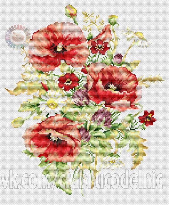 Poppies (575x700, 583Kb)