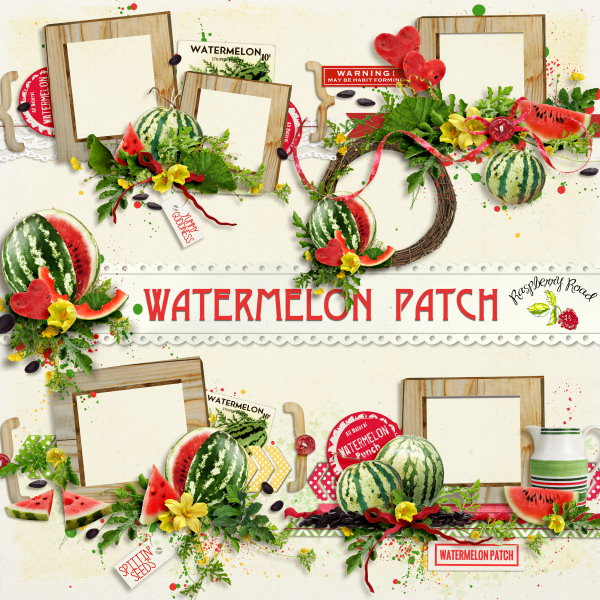 WatermelonPatch_Clusters_Preview (600x600, 135Kb)
