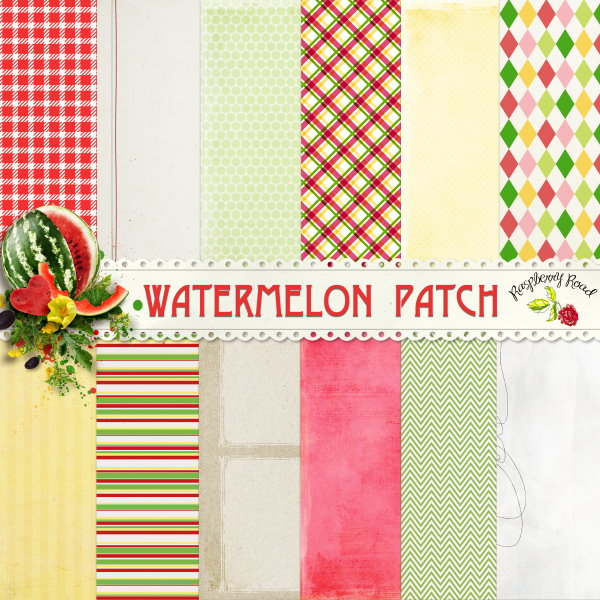 WatermelonPatch_Papers_Preview (600x600, 126Kb)