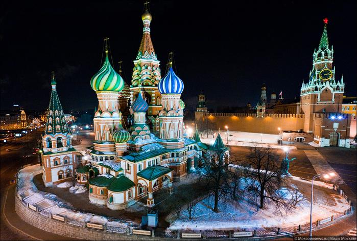 Москва вечерняя 10 (700x471, 510Kb)