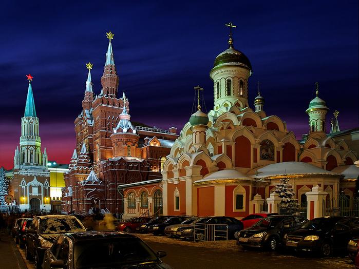 Москва вечерняя 12 (700x524, 468Kb)