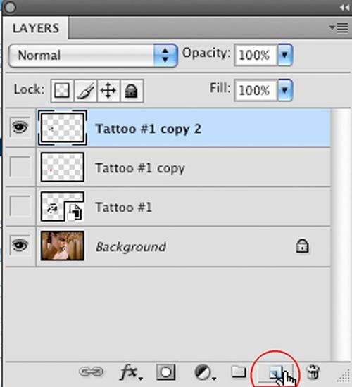 Как добавить реалистичное тату в Photoshop