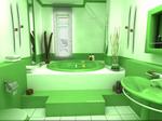 Превью зеленая-ванная (699x523, 228Kb)