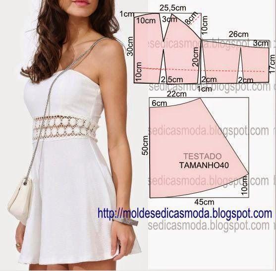 Как сшить модное платье своими руками