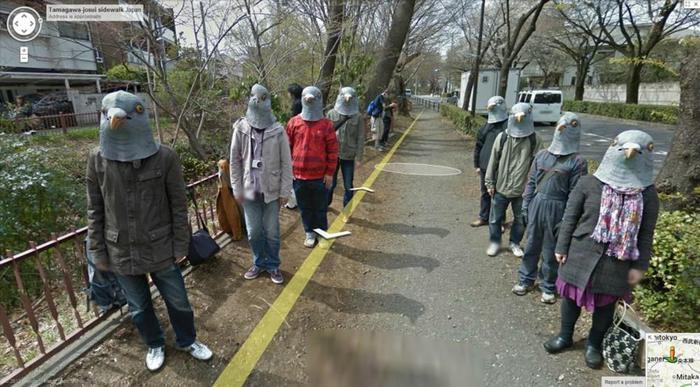 20 шокирующих и возмутительных фотографий Google Карты