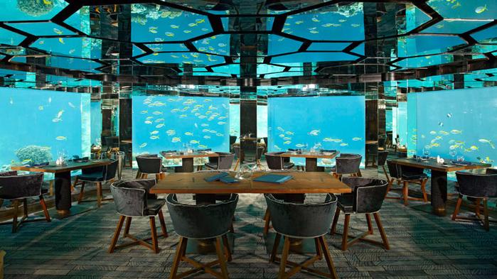 ресторан Sea.Fire.Salt.Sky. Restaurant на Мальдивах 2 (700x393, 437Kb)