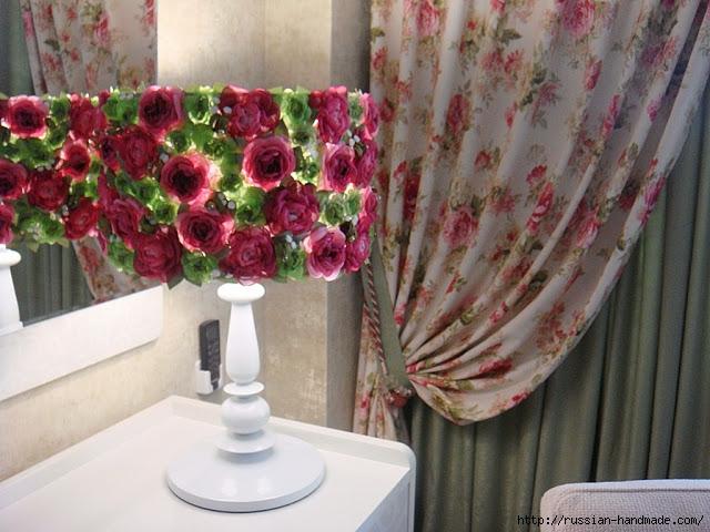 Цветы из ткани и БУКЕТ ИЗ СТАРОЙ ЛАМПЫ (7) (640x480, 228Kb)