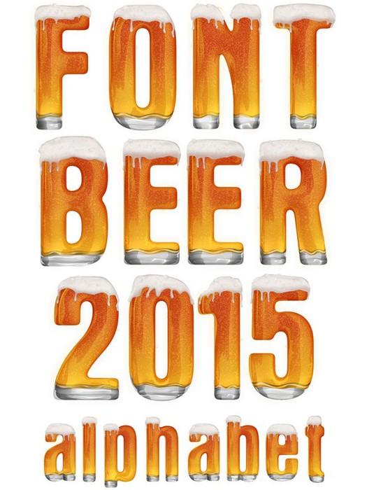 Шрифт пиво (алфавит) прозрачный фон (525x700, 85Kb)