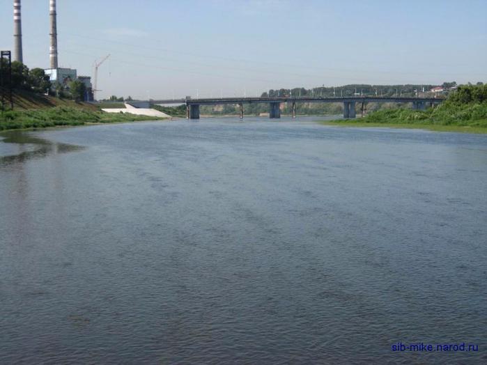 Водная магистраль кузбасса река томь