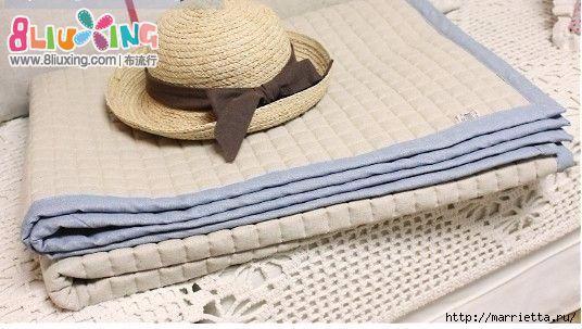 Как окантовать лоскутное одеяло (10) (536x303, 122Kb)
