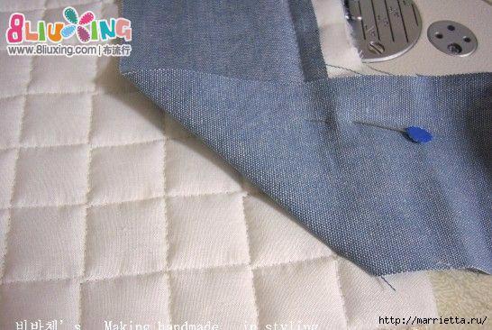 Как окантовать лоскутное одеяло (12) (546x366, 145Kb)