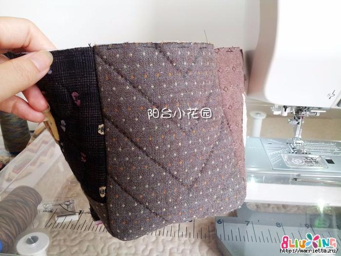 Как сшить сумку - саквояж. Фото мастер-класс (2) (700x525, 278Kb)
