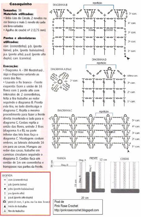 Casaquinho Croche Gr PinkRose (455x700, 298Kb)