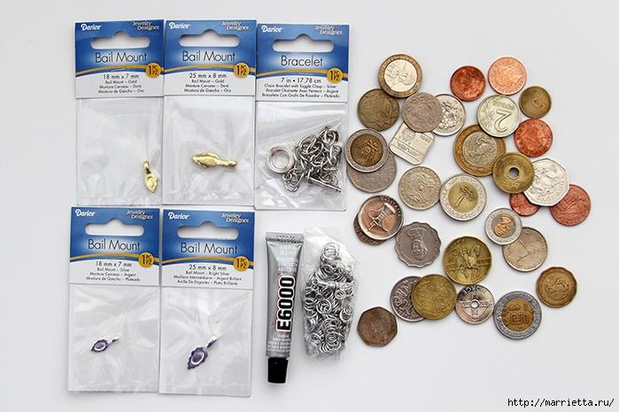 Браслет из монет (3) (700x466, 265Kb)