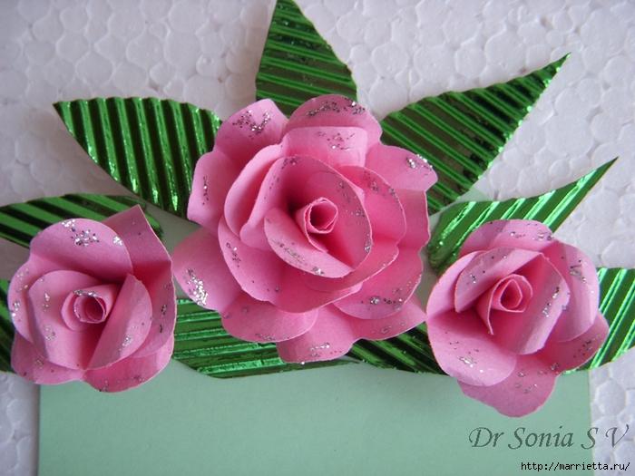 Скрапбукинг. Розы из бумаги (1) (700x525, 292Kb)