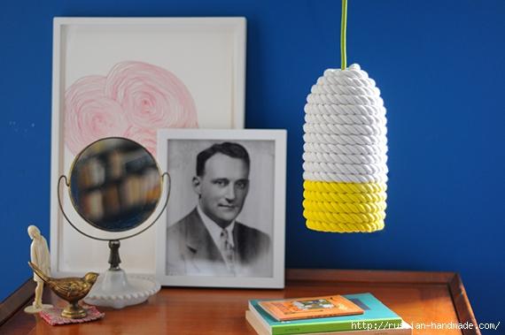 Светильник своими руками из банки, шарика и веревки (1) (570x379, 150Kb)