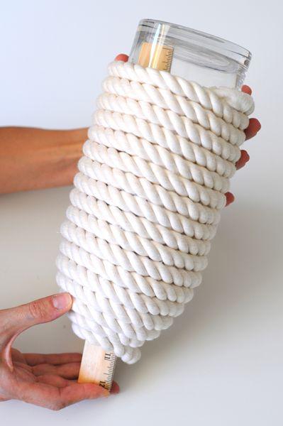 Светильник своими руками из банки, шарика и веревки (6) (399x600, 130Kb)