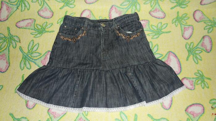 Модное платье из старых брюк