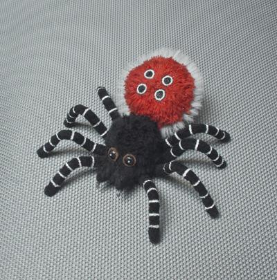 божья коровка паук (400x405,