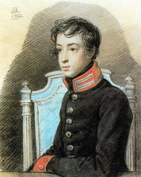 Прижизненный портрет пушкина