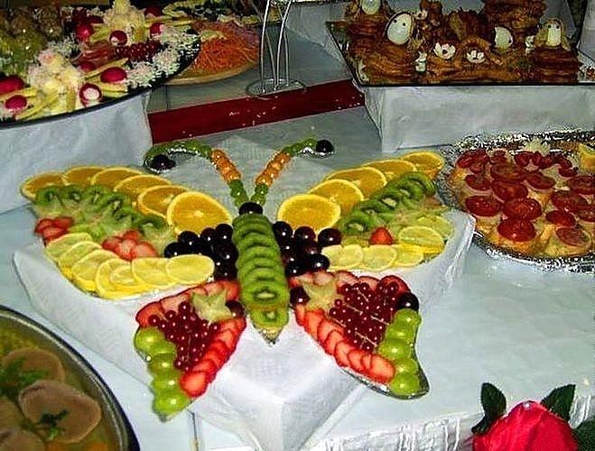 Фруктовые салаты на детское день рождения рецепты с