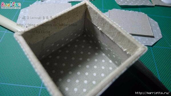 Шкатулка из картона своими руками (4) (600x338, 140Kb)