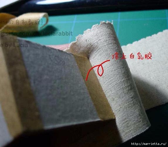 Шкатулка из картона своими руками (9) (573x501, 147Kb)
