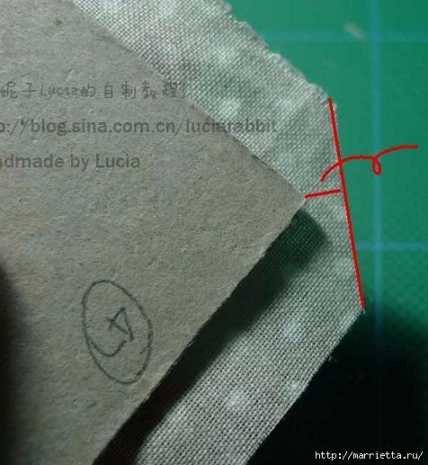 Шкатулка из картона своими руками (11) (476x517, 159Kb)